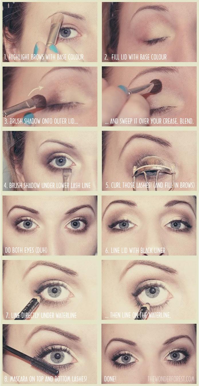 8 Step Everyday Neutral Makeup Tutorial