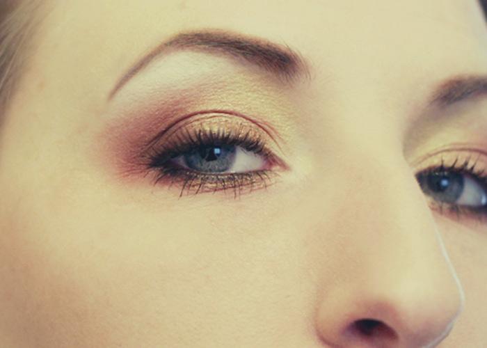 Golden Sunrise Eyes!  A Makeup Tutorial!