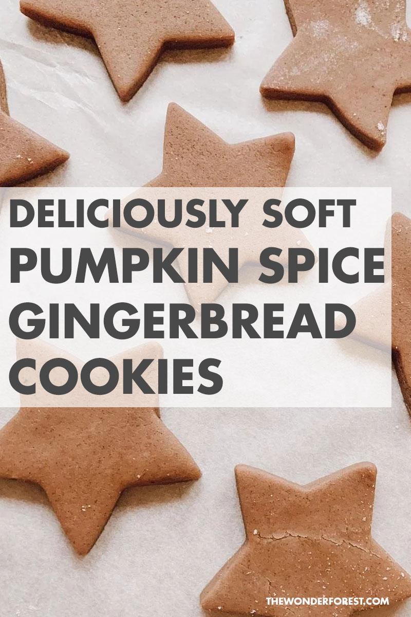 Easy Pumpkin Spice Gingerbread