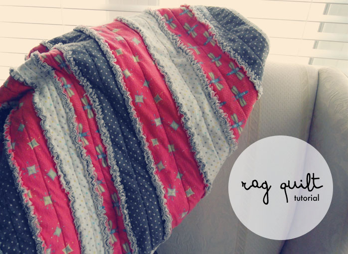 Easy Peasy DIY Rag Quilt Tutorial