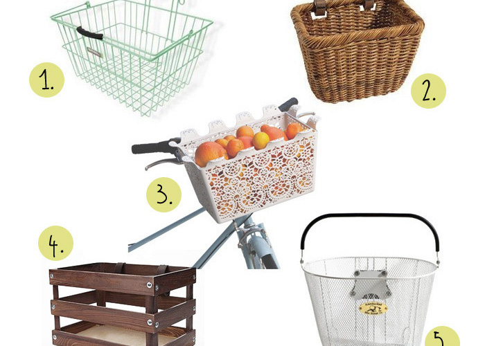 5 Totally Chic Bike Baskets