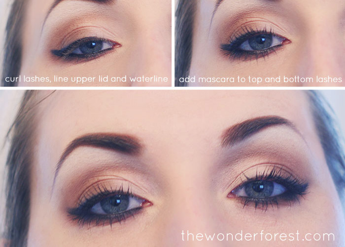 Everyday Neutral Smokey Eye Tutorial Wonder Forest