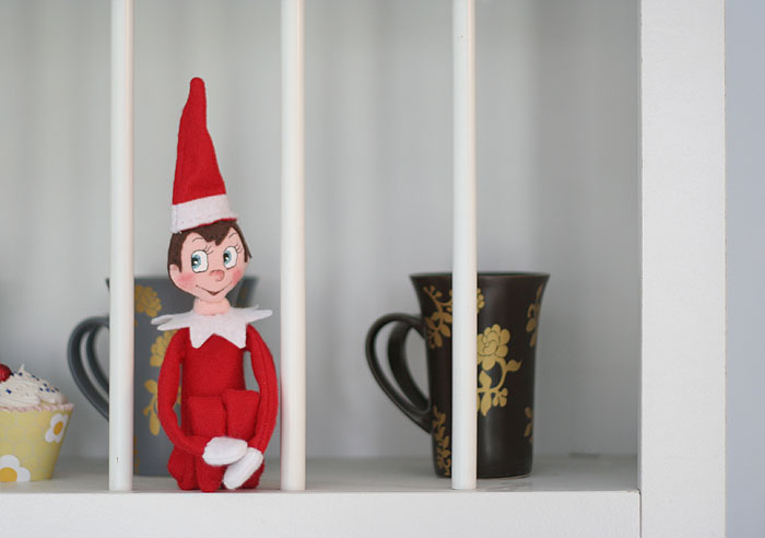 Meet Elfred. A DIY Elf on The Shelf!