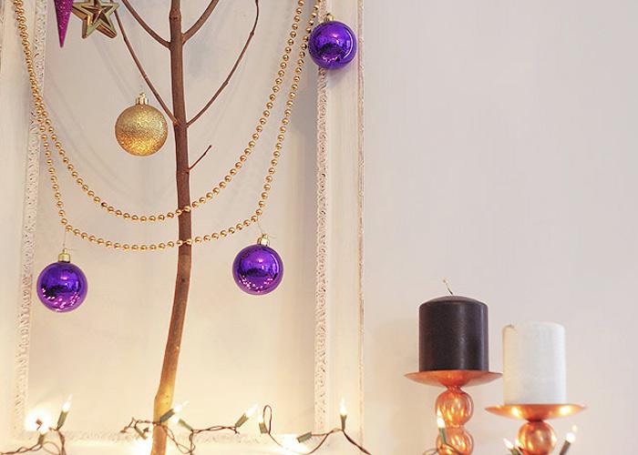 The Free-Spirited Christmas (Branch) Tree