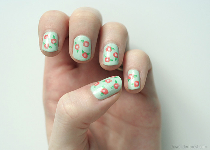 Floral Nail Art – China Glaze Avant Garden Collection