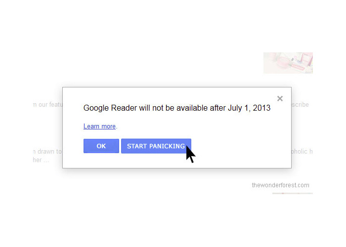 Bye Bye Google Reader! What About Friend Connect??