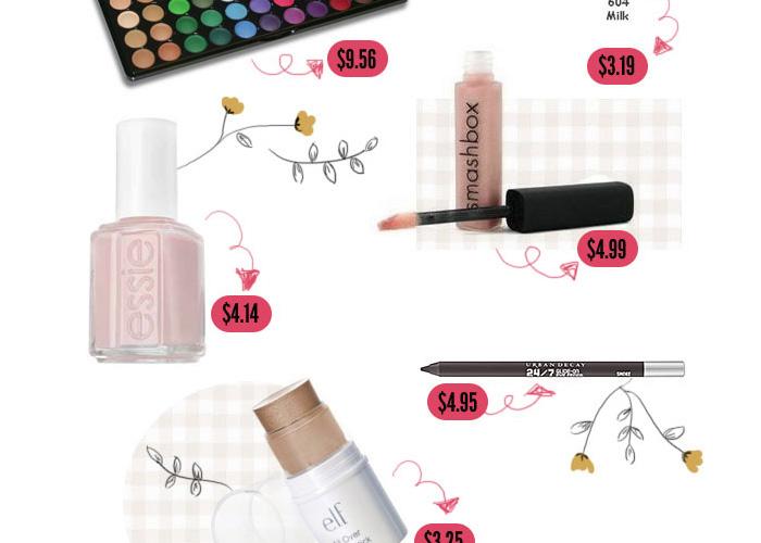 Cheap Summer Makeup Essentials