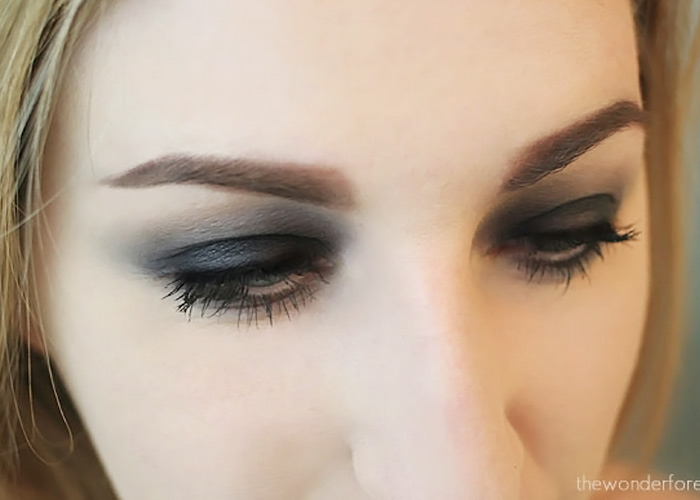 Easy Black Smokey Eye Tutorial Wonder Forest