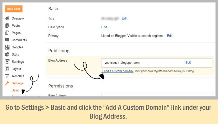 How To Set Up a Custom Domain in Blogger - The Right Way! - Wonder