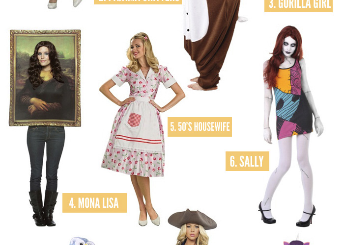 My Favourite Un-Sexy Halloween Costumes for Women