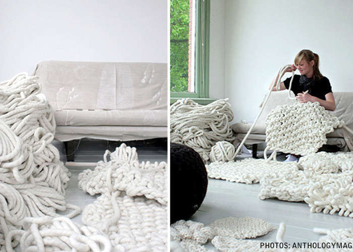 Giant Knitting: Absurd or Awesome?