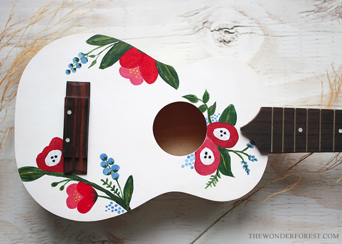 Gift Idea: Make Your Own DIY Ukulele