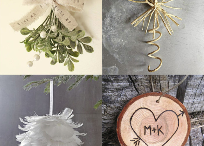 Ornaments: Rustic, Woodsy, and Pretty