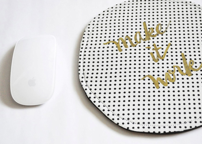 Make: DIY Modern Mousepad