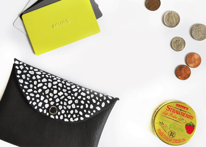MAKE: DIY Mini Leather Wallet