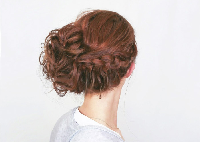 Romantic Boho Lace Braid Up-Do : Hair Tutorial