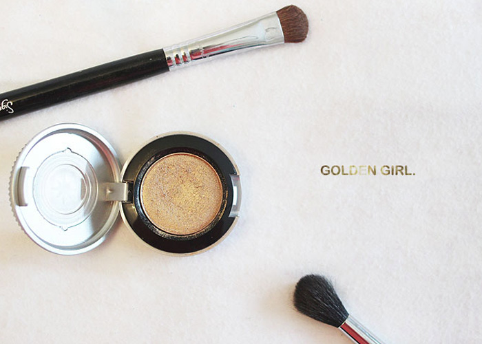 Face Of The Day: Golden Girl