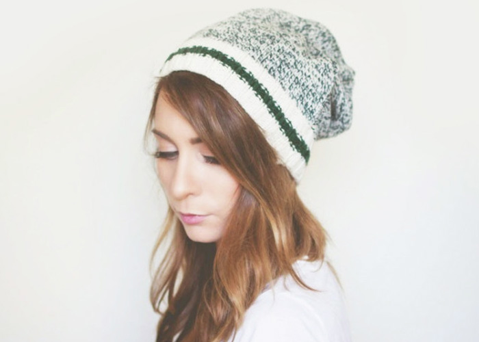 Wardrobe Remix: DIY No Sew Beanie From a Sweater