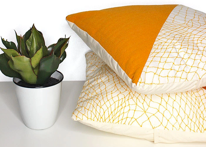 DIY: 10 Minute Geometric Pillow Covers
