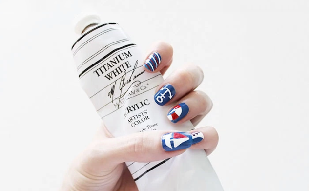 Nautical Nails and Creating Fine Details
