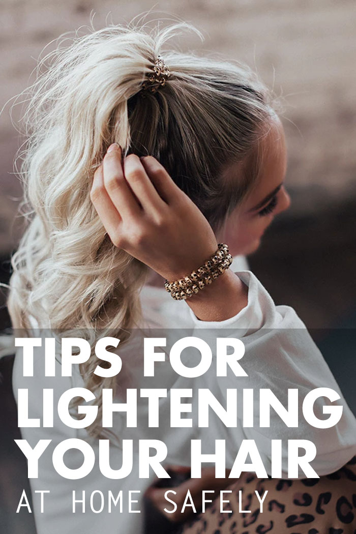 lightening your hair