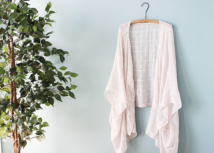 Make a DIY Kimono From a Scarf