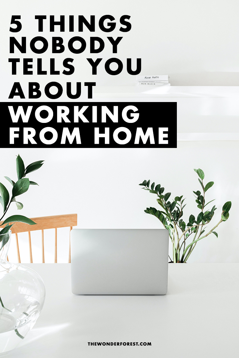 5 Things Nobody Tells You About Working From Home