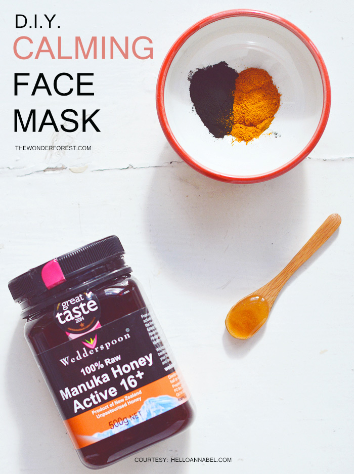 DIY Natural Calming Face Mask