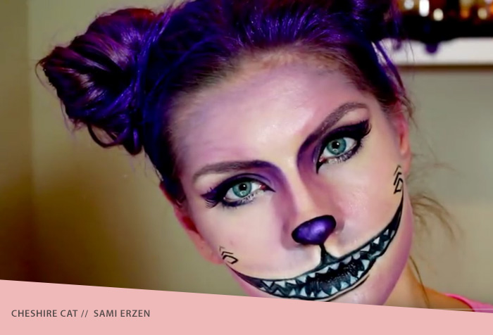 Cheshire Cat Halloween Makeup