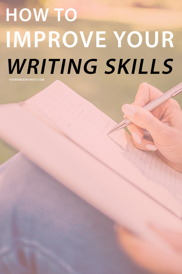 Reading improve writing skills