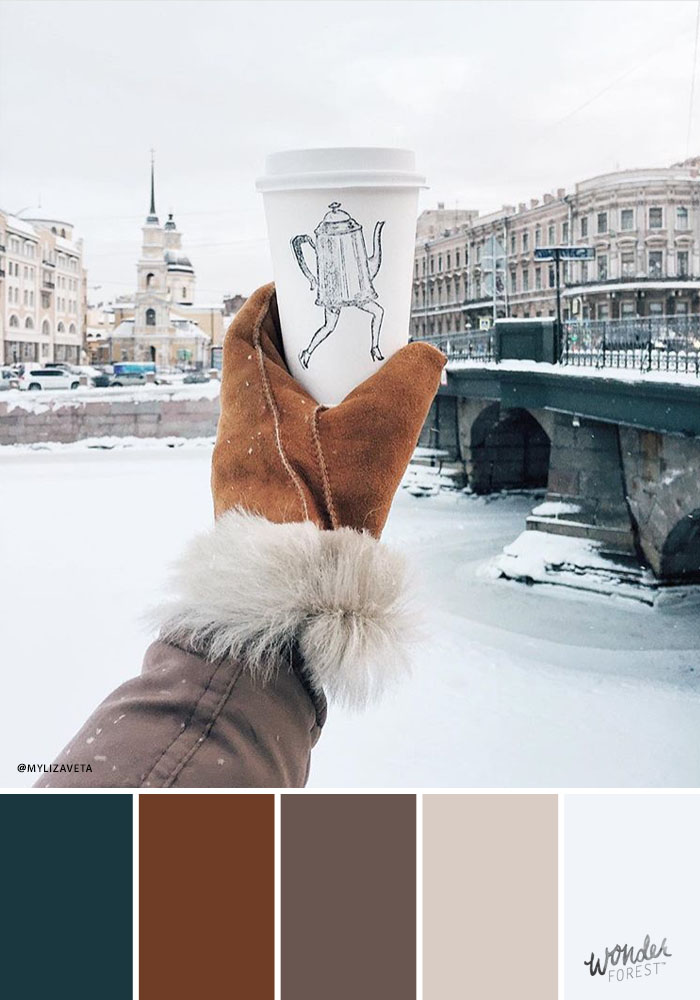 Cold Winter Paint Color Ideas