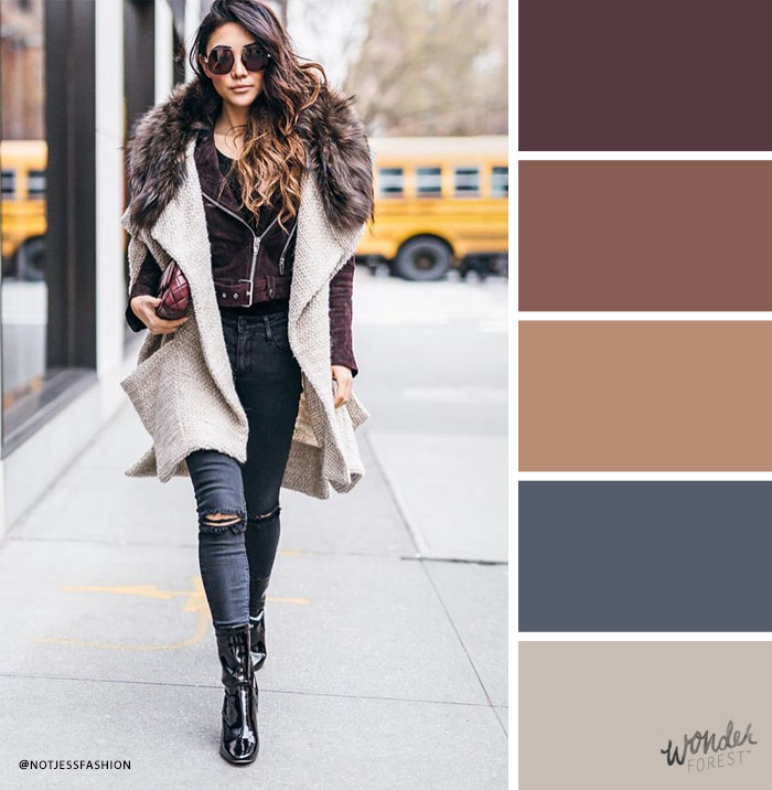 Winter Colour Palette Ideas