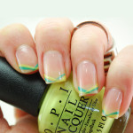 Bright Stripe Nail Tutorial