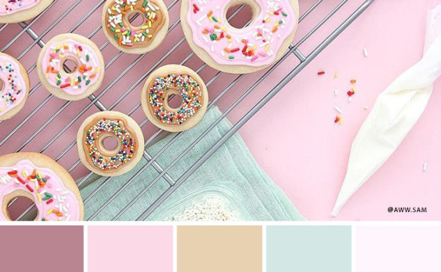 Colours of Instagram: Pink Palettes