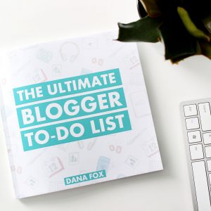The Ultimate Blogger To-Do List