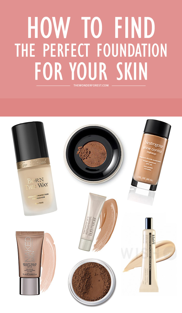 Find Perfect Nail Shapes For Girls Fashion Tips: How To Find The Perfect Foundation For Your Skin