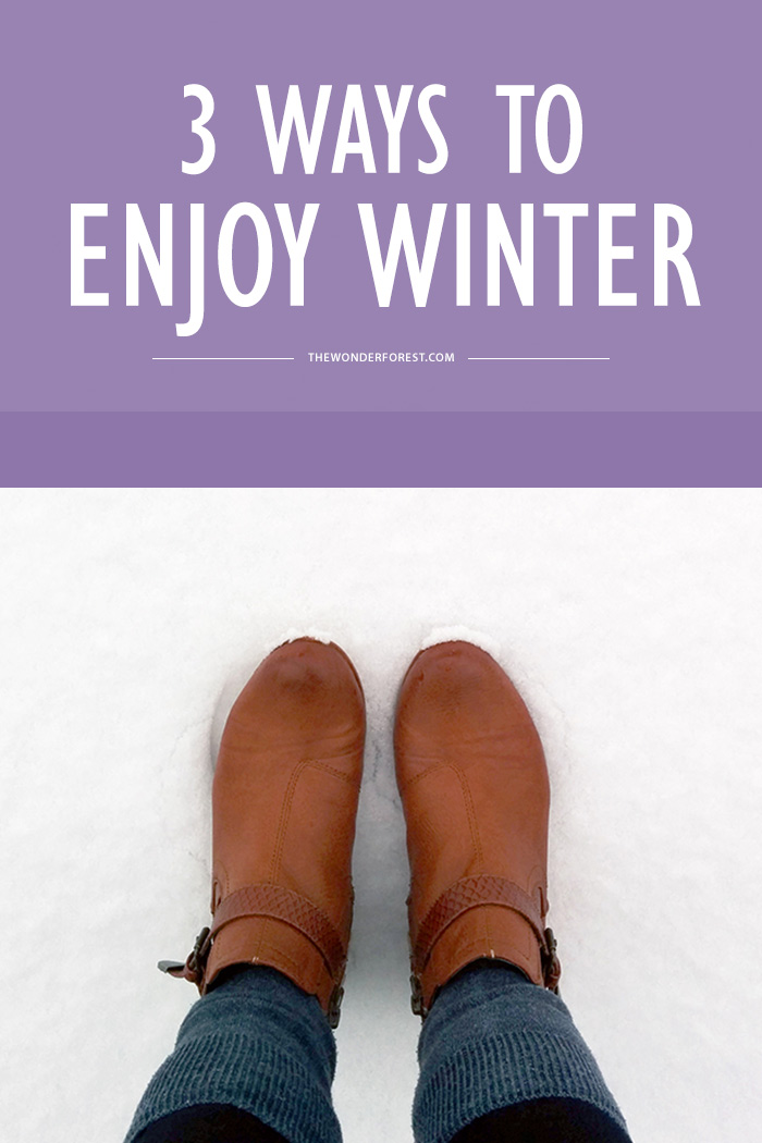 3 Ways to Enjoy Winter