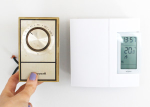 Replace Your Old Analog Thermostat with a Digital One (Electric Heating)