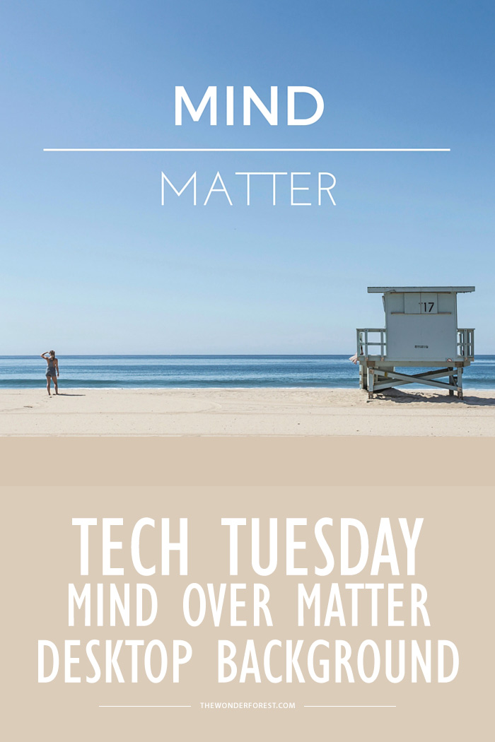 Tech Tuesday: Mind over Matter Desktop Background