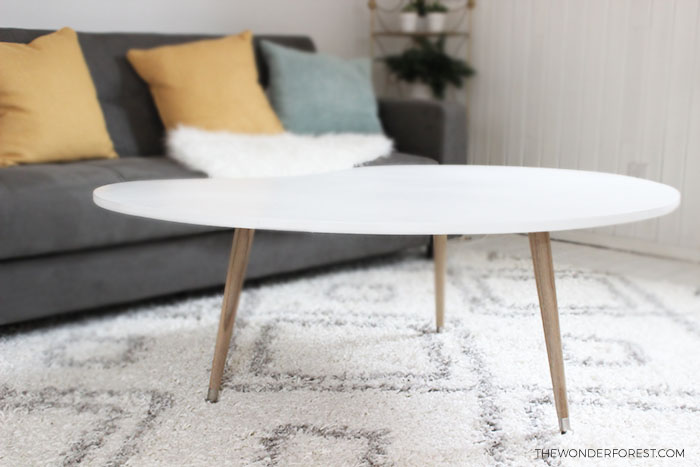 Make This DIY Mid Century Table For Under $50!