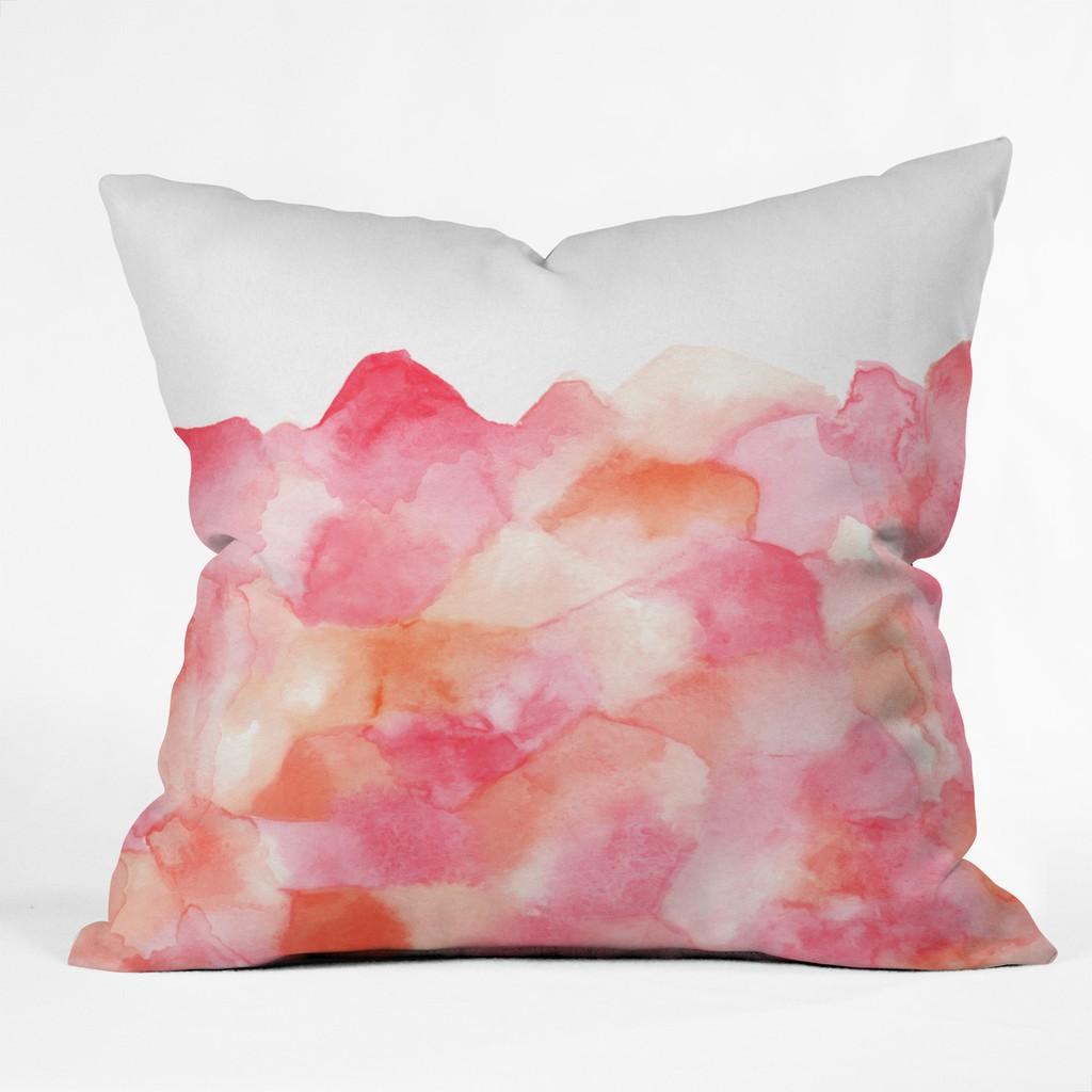 Geo Gems Indoor Throw Pillow