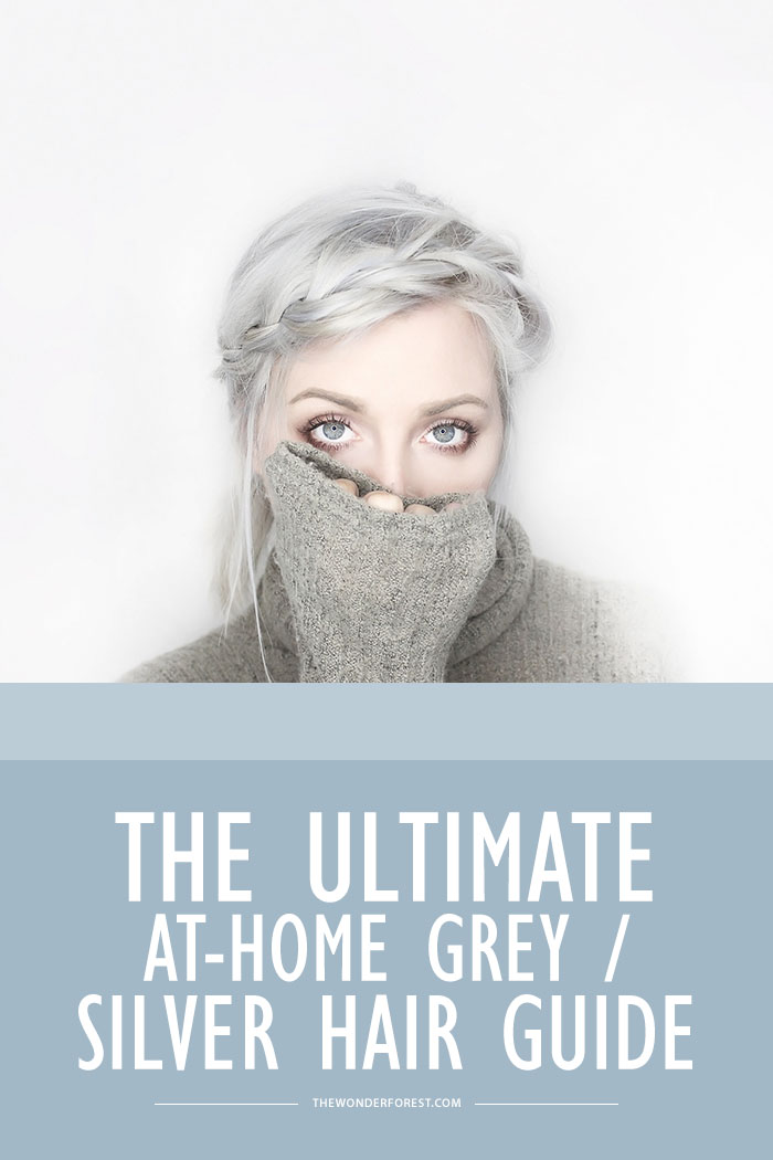The Ultimate Guide To Dyeing Your Hair Silver Or Grey At Home