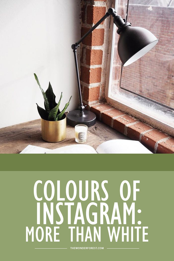 Colour palettes: More than white