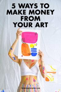 make money as an artist