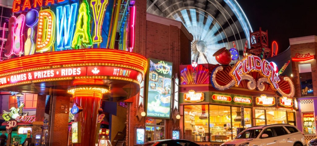 Clifton Hill in Niagara Falls, ON