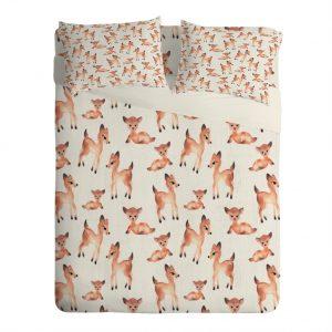 Wonder Forest Darling Deer Sheet Set
