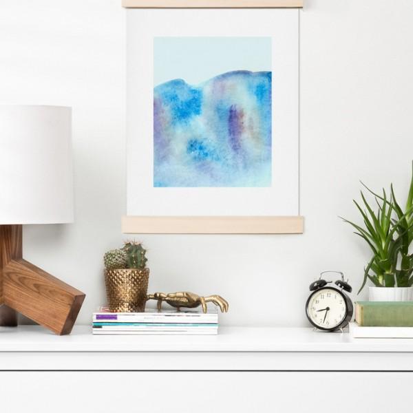 Wonder Forest Ocean Tide Art Print