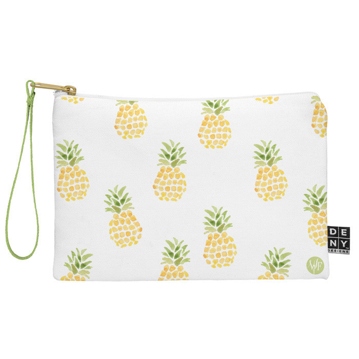 Wonder Forest Pineapple Express Zip Pouch