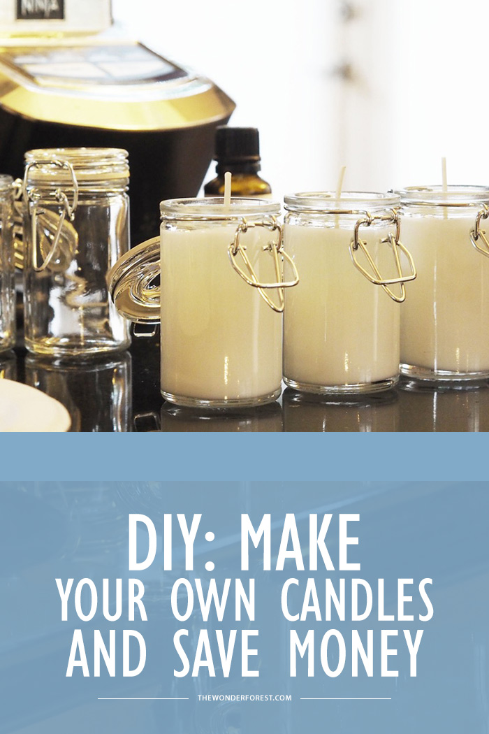 DIY: Make Your Own Candles and Save Money