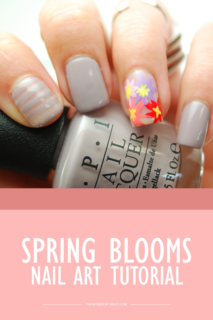 Spring Blooms Nail Art Tutorial